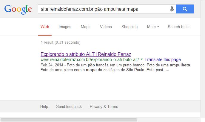 Imagem do resultado da busca pelas palavras-chave pão, mapa e ampulheta no blog reinaldoferraz.com.br