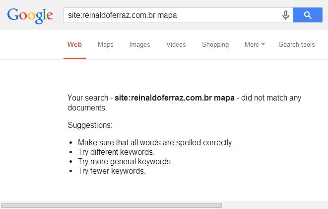 Resultado da busca no google por uma palavra chave da terceira foto
